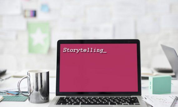 Storytelling auf Bildschrifm